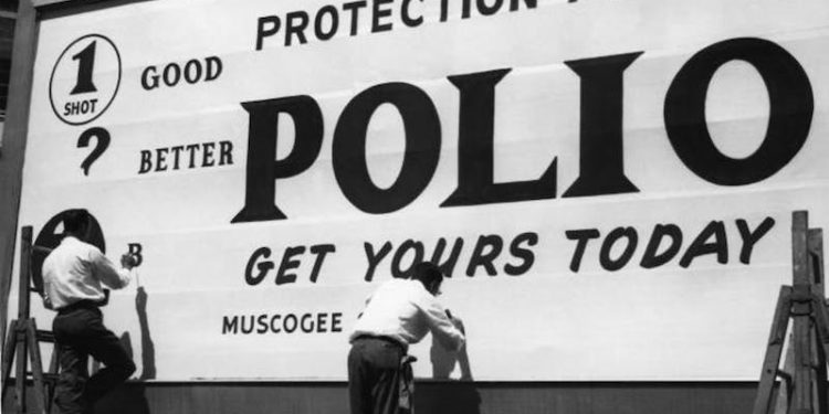 polio vaccine early days